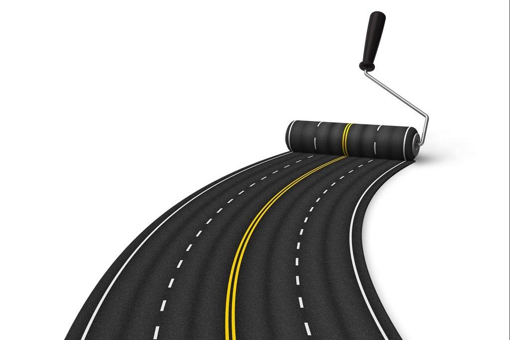 Строительные работы: Укладка дорог в А-профиль, капитальный ремонт и строительство