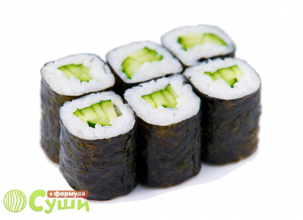 Мини-роллы: ОГУРЕЦ в Формула суши