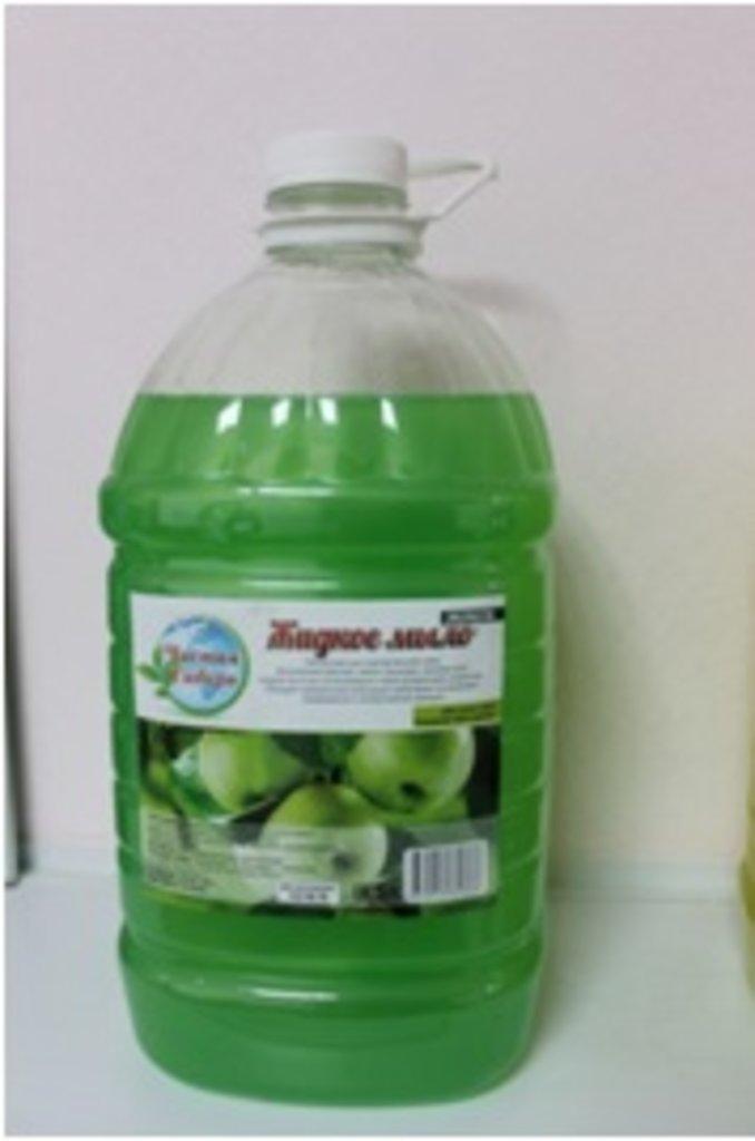 Жидкое мыло: Зеленое яблоко 5 л в Чистая Сибирь
