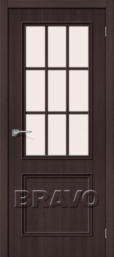 Двери экошпон BRAVO Classico: Классико-20 Wenge Veralinga в STEKLOMASTER