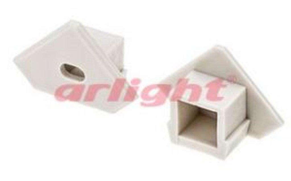 Алюминиевый профиль: Заглушка для PDS45-T с отверстием в СВЕТОВОД