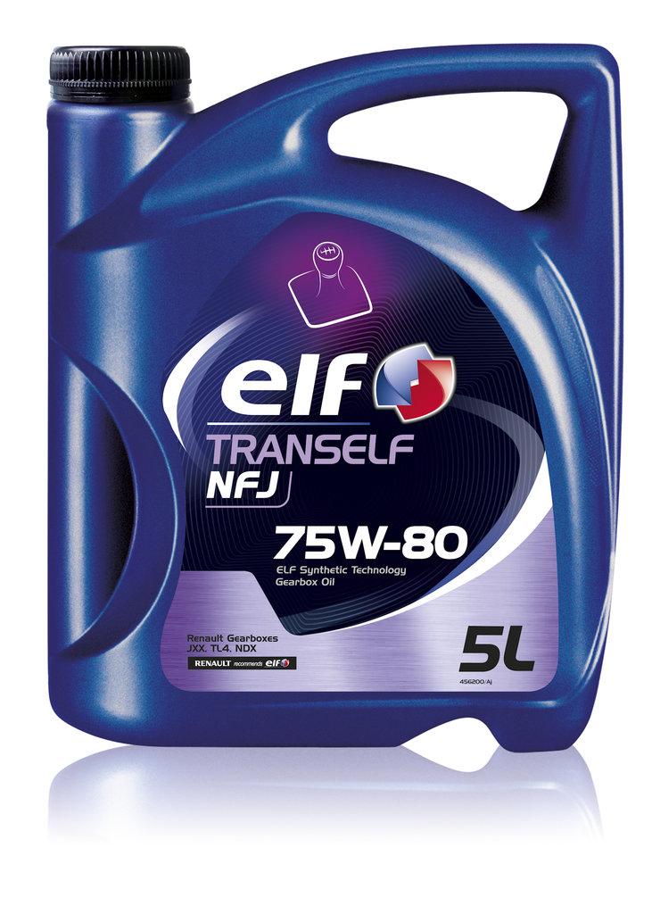ГСМ: Масло ELF трансмиссионное 75/80 Tranself NFJ GL4 5 л в MОТОР