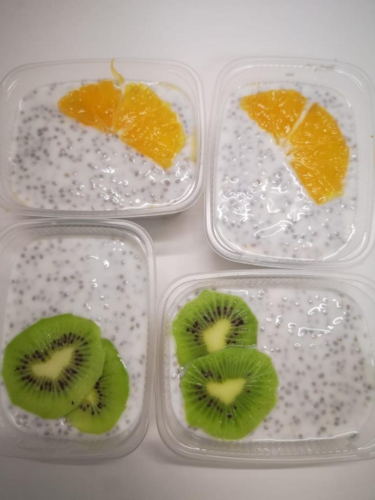 Десерты: Десерт с семенами ЧИА в Кушать подано