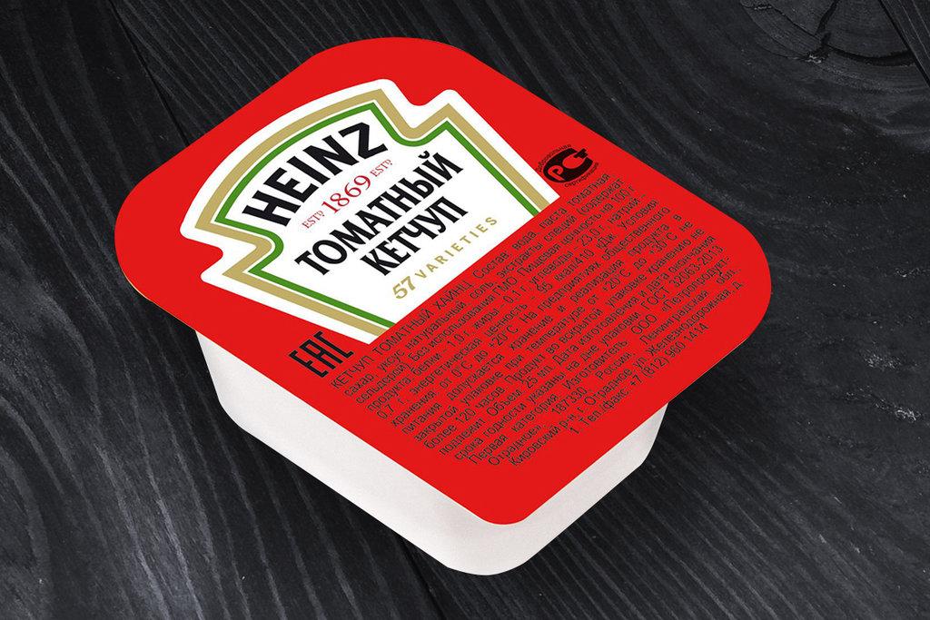Соусы: Соус Кетчуп порционный Heinz 25г дип-пот в SUPER KEБAБ