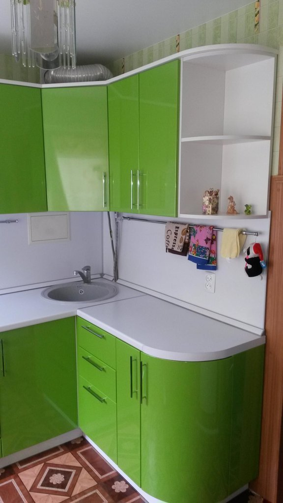 Кухни: Кухня 21 в Квадра Мебель