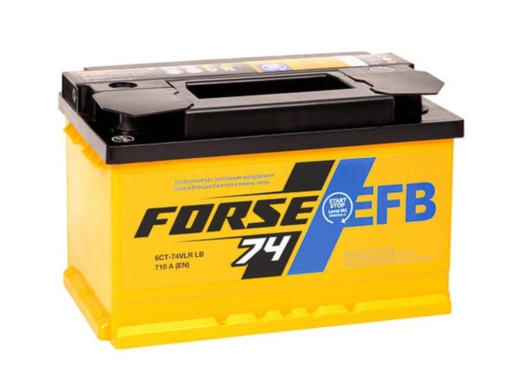 Forse: Аккумулятор FORSE EFB 6СТ-74 VLR LB в БазаАКБ