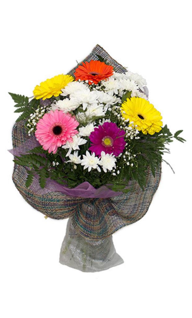 """Букеты и композиции из живых цветов: Букет """"Микс авангард"""" в Цветы доставка"""