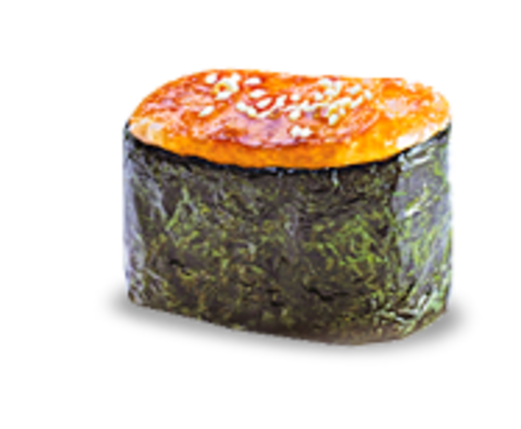 Суши: Запеченный гункан с курицей в КусОk