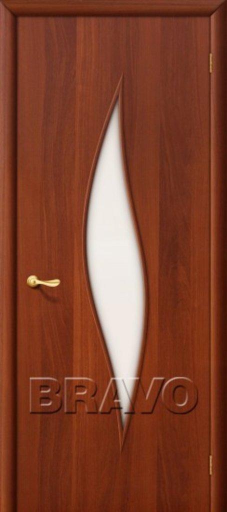 Двери ламинированные BRAVO: 12С Л-11 (ИталОрех) в STEKLOMASTER
