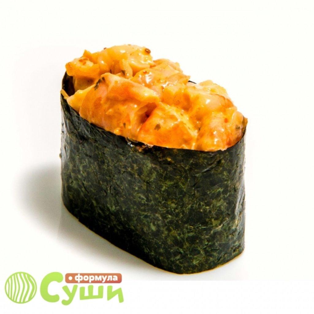 Суши: ЗАПЕЧЁНЫЙ ОКУНЬ в Формула суши