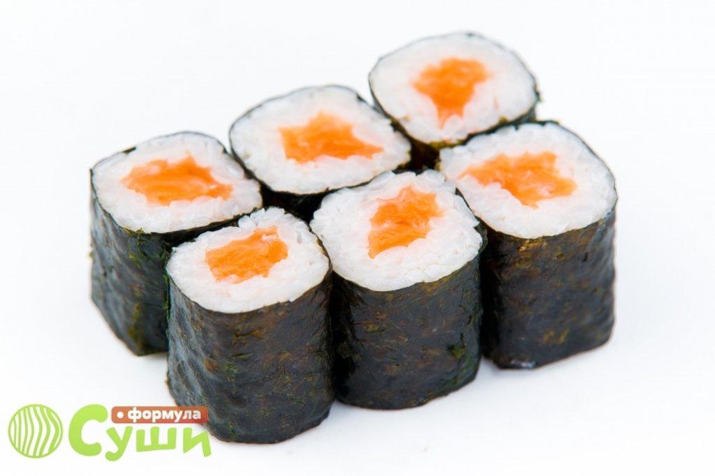 Мини-роллы: ЛОСОСЬ в Формула суши
