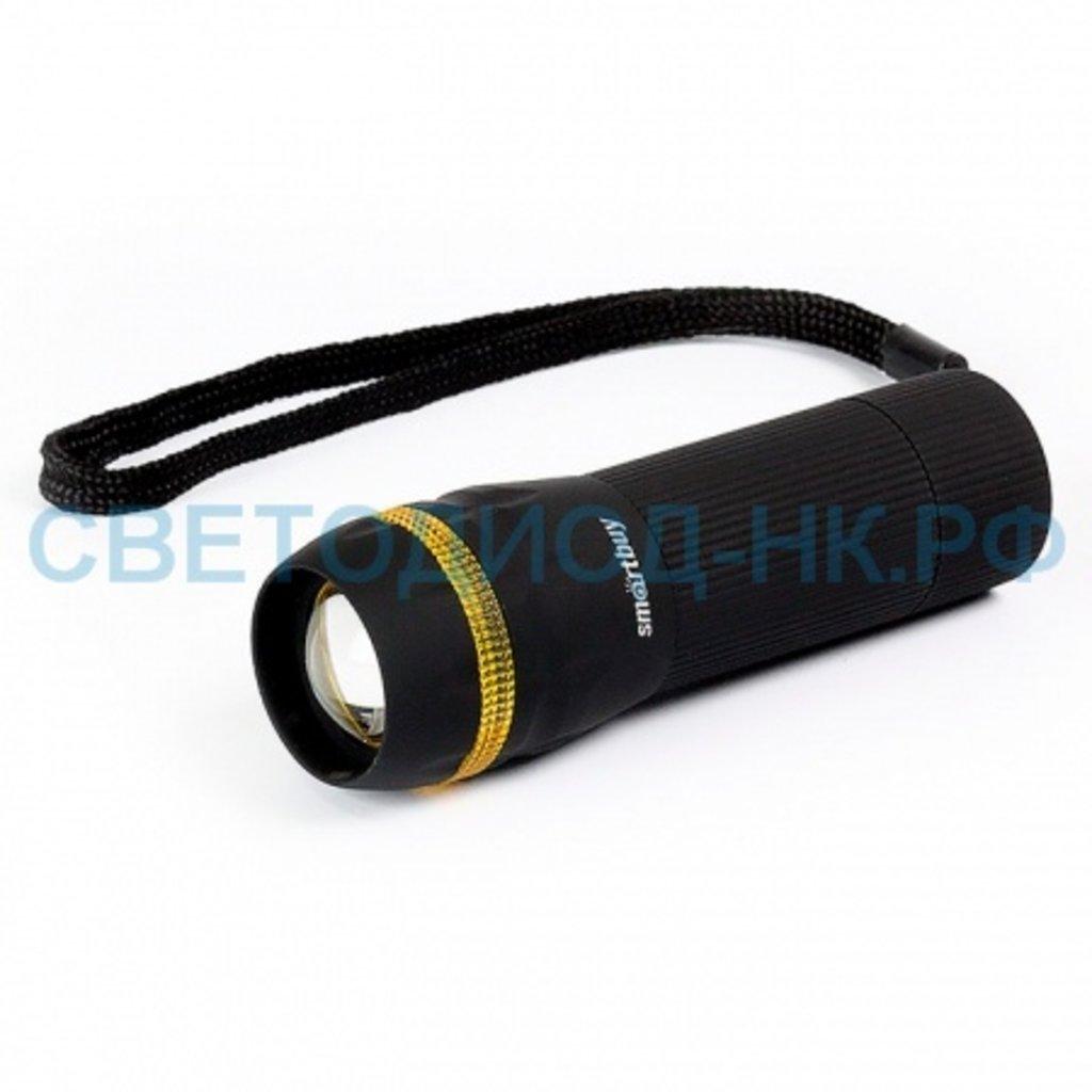 Светодиодные фонари, пушлайты: Фонарь Smartbuy светодиод. пластик 3Вт в СВЕТОВОД