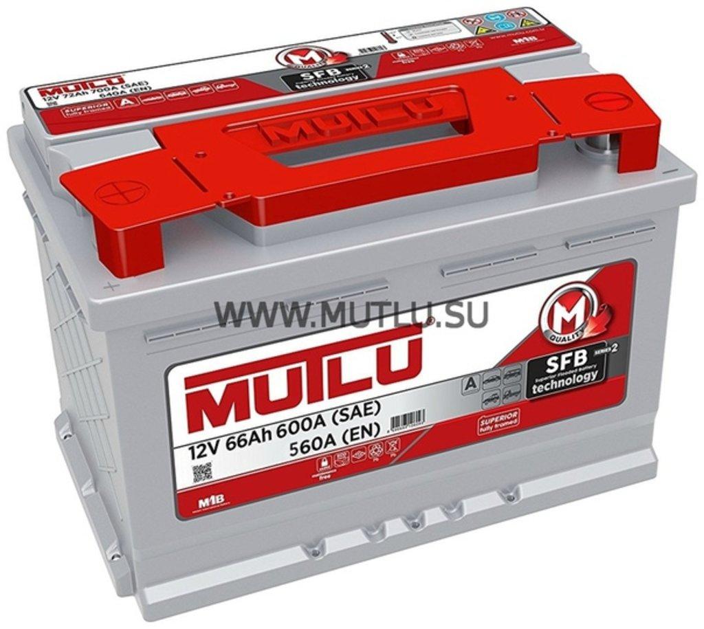 MUTLU: Аккумулятор MUTLU 6CT - 66 в БазаАКБ
