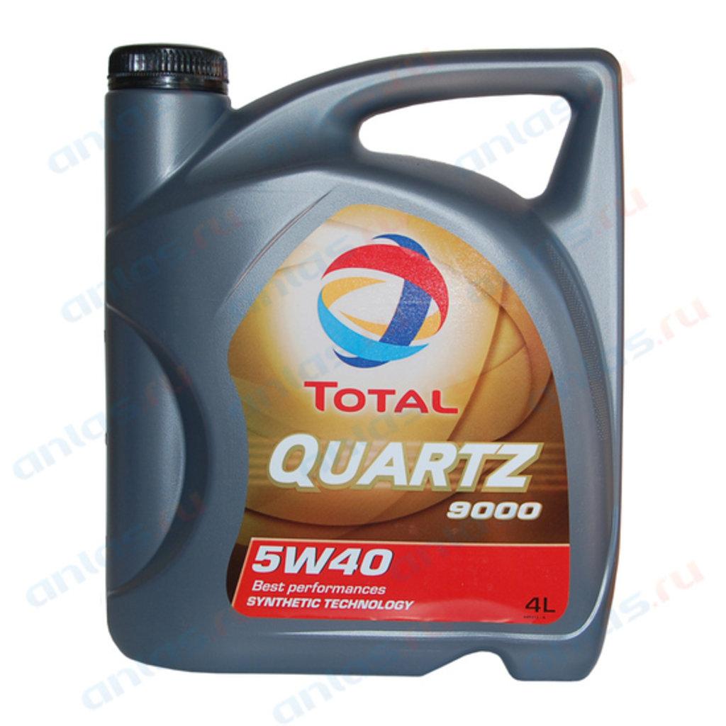 ГСМ: Масло Total 5/40 Quartz 9000 A3/B4 синтетическое 4 л в MОТОР