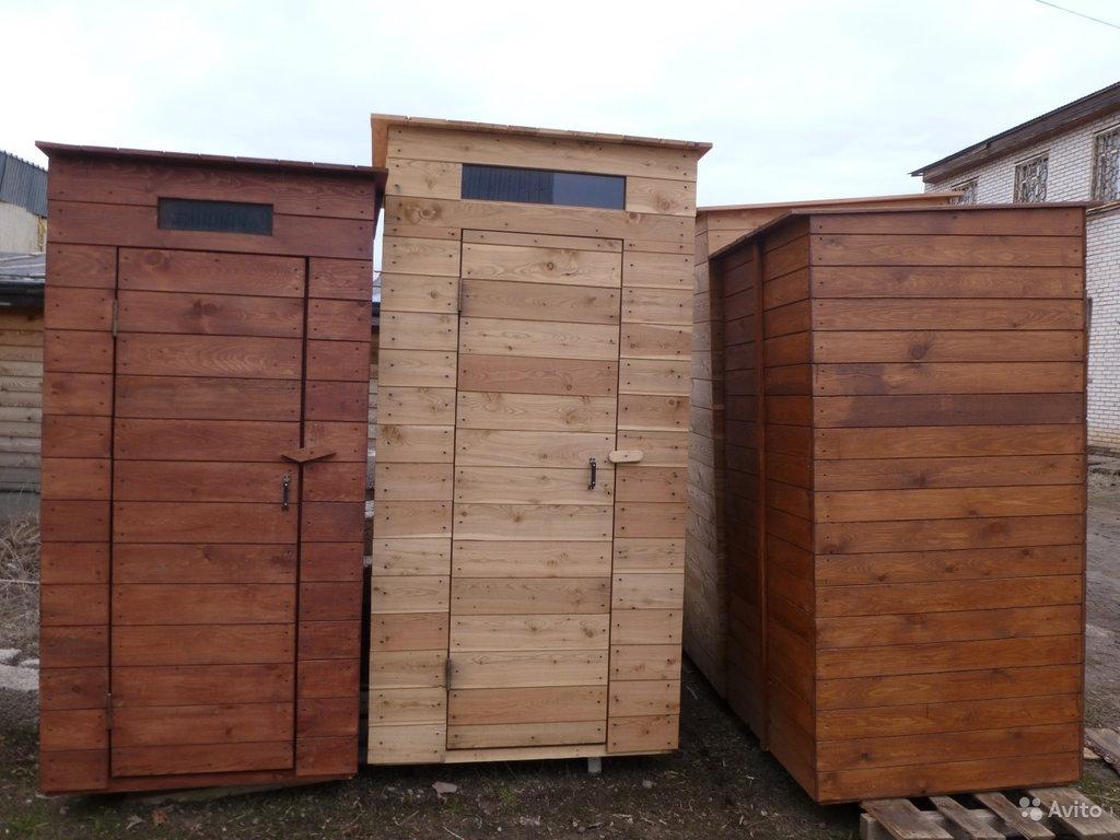 Сантехника и сауна: Туалет деревянный, дачный в Отделочные материалы из дерева на Беляевской
