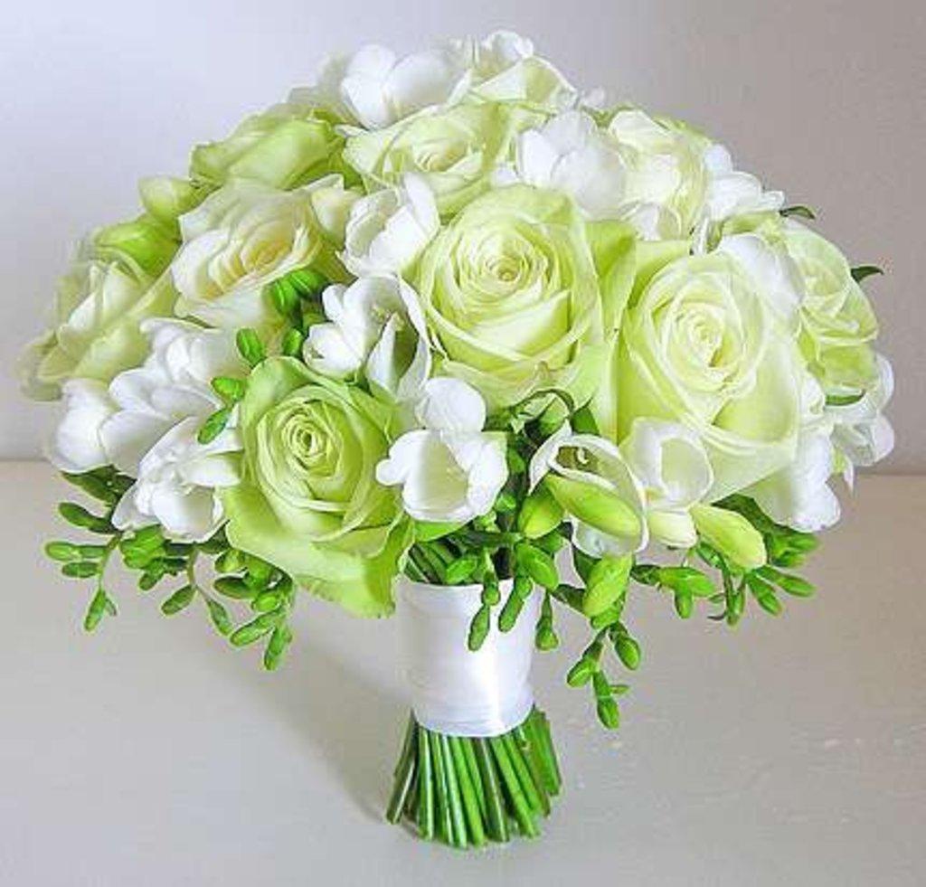 Свадебная флористика: Букет № 1 в Николь, магазины цветов