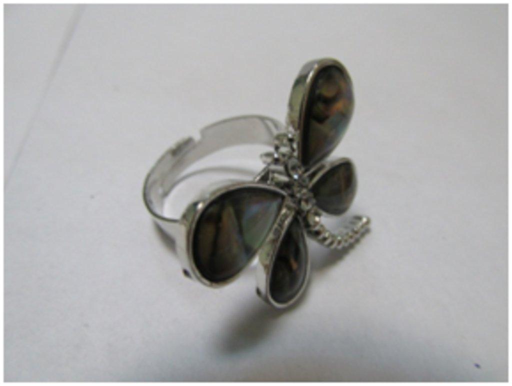 Кольца: Кольцо «Стрекоза» в Шамбала, индийская лавка