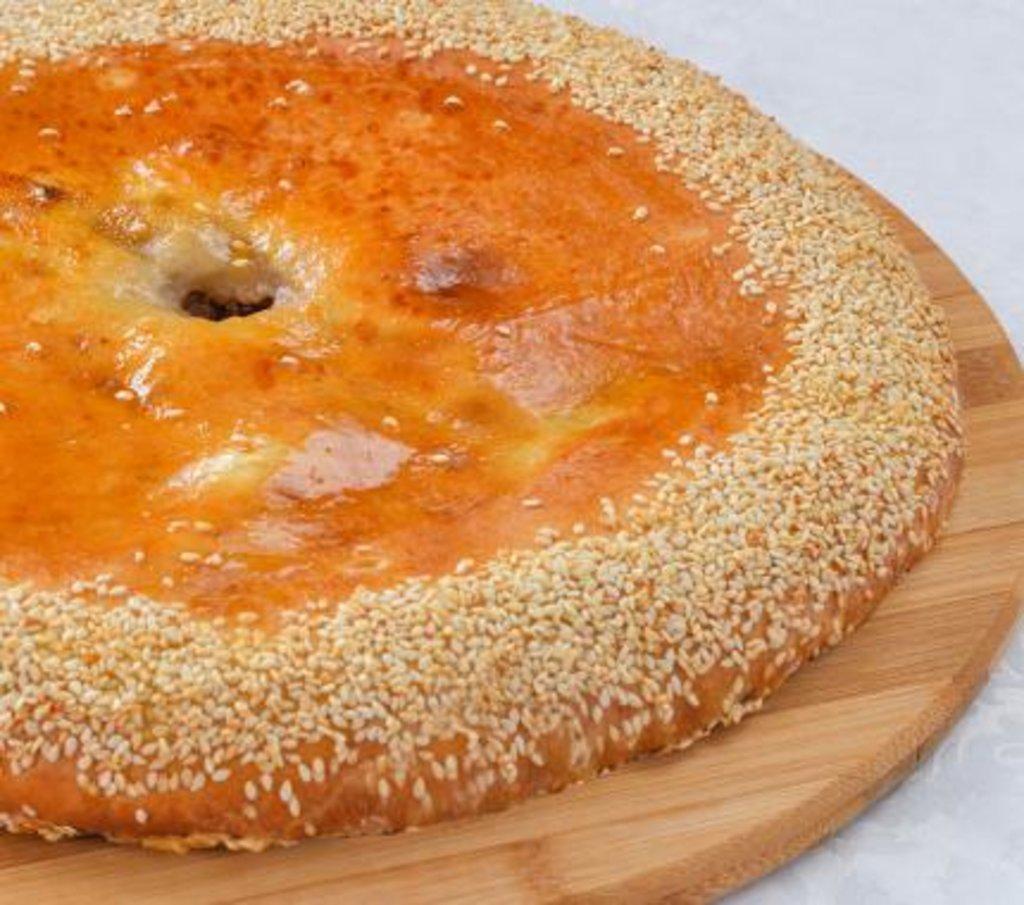Осетинские пироги: Пирог осетинский с Грибами и осетинским сыром в Царевы Пироги