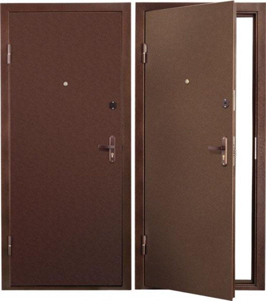 Стальные двери: Металлическая дверь Люкс 2 в Мир дверей