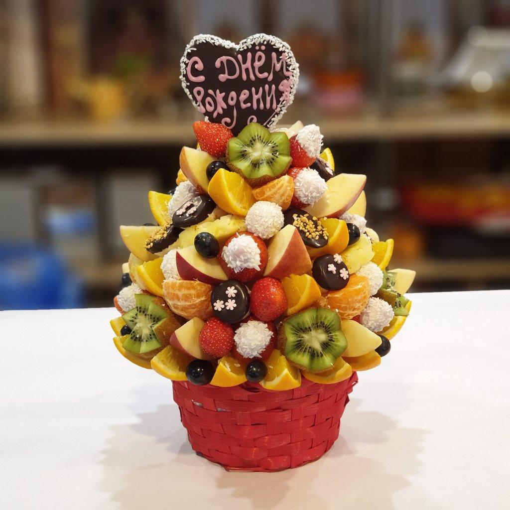 ВСЕ БУКЕТЫ: С днем рождения! в Fruit Art