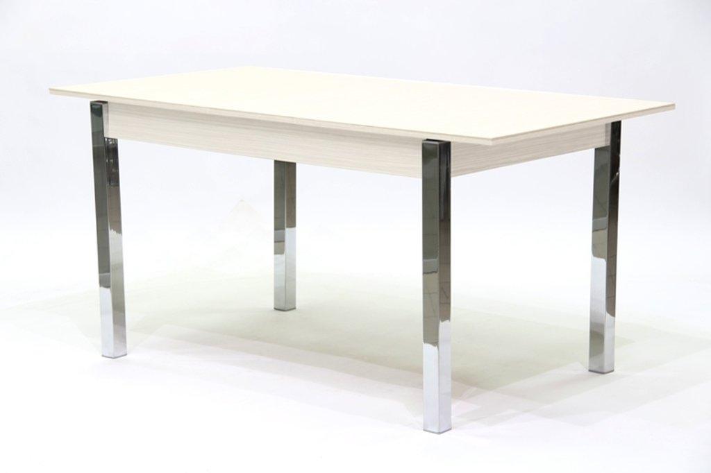 Столы кухонные: Стол ПГ-16 раздвижной (хром) в АРТ-МЕБЕЛЬ НН