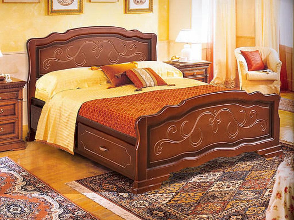 Кровати: Кровать Катя-6 в Золотая рыбка
