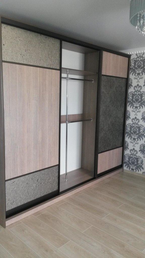 Шкафы-купе: Шкаф-купе 2 в Квадра Мебель