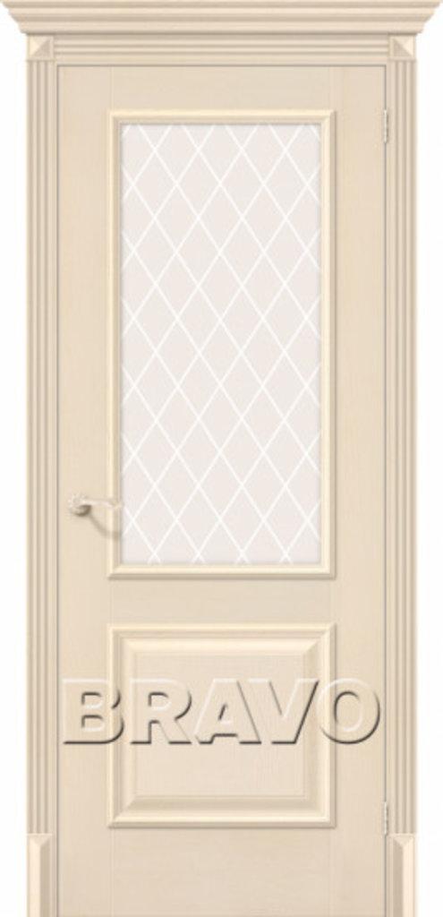 Двери экошпон BRAVO Classico: Классико-13 Ivory в STEKLOMASTER