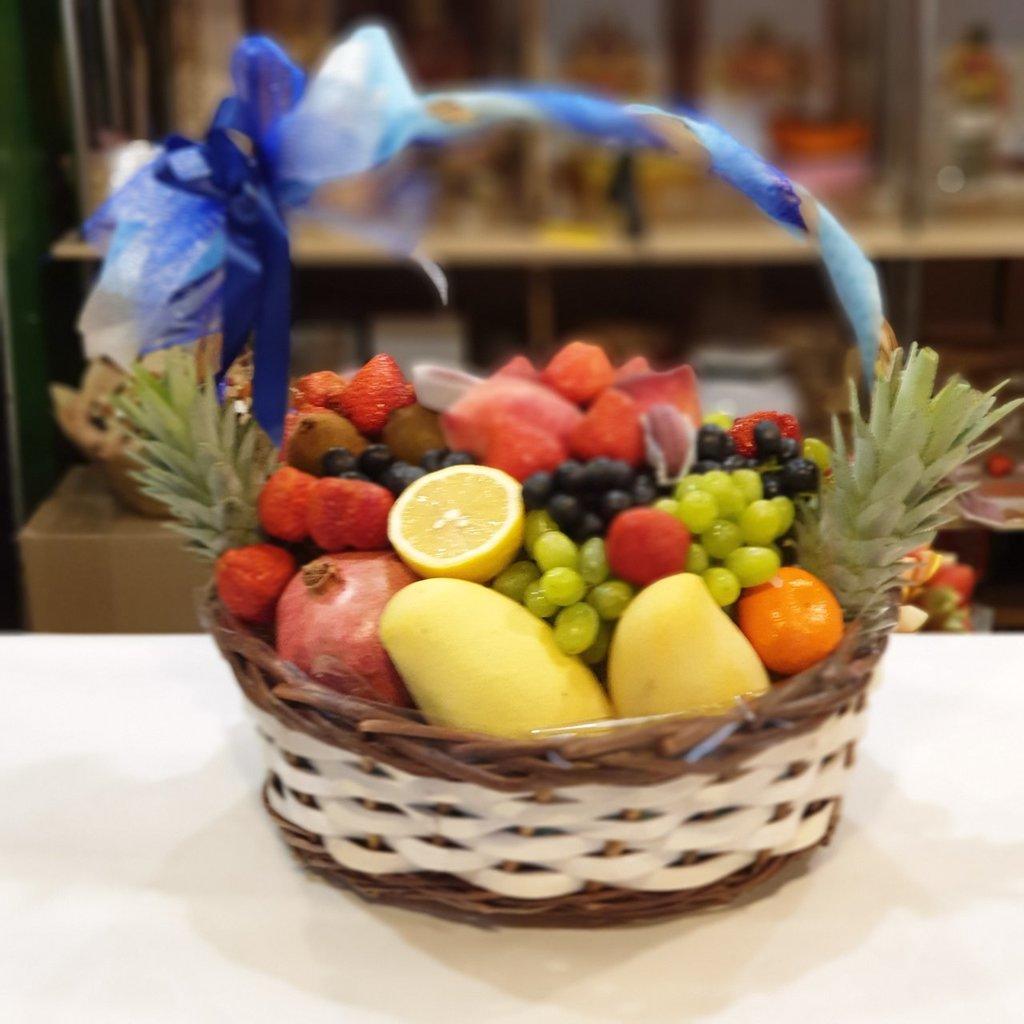 Корзинка фруктов: Корзина с фруктами #4 в Fruit Art