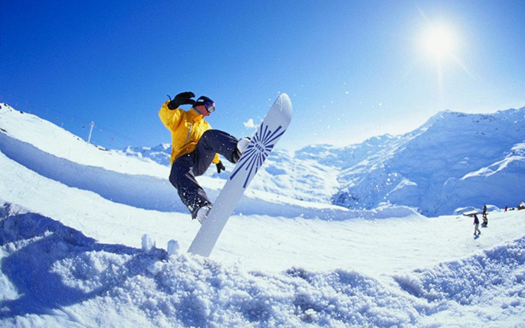 Спортивный зимний отдых: Сноубординг в Seventh Heaven