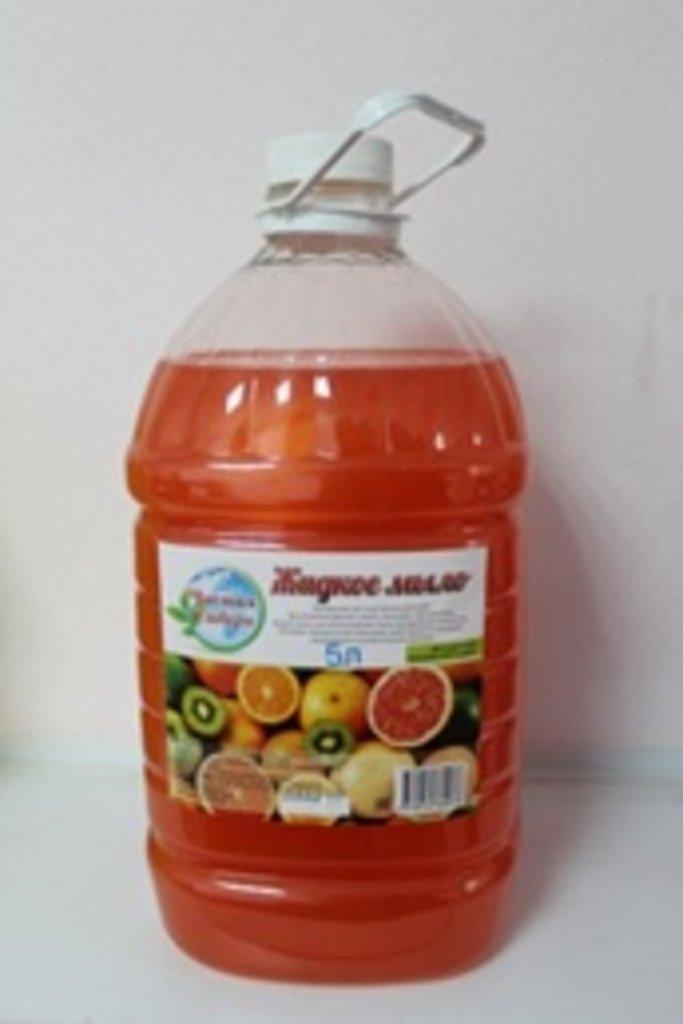Жидкое мыло премиум класса: Зеленое яблоко 5 л в Чистая Сибирь