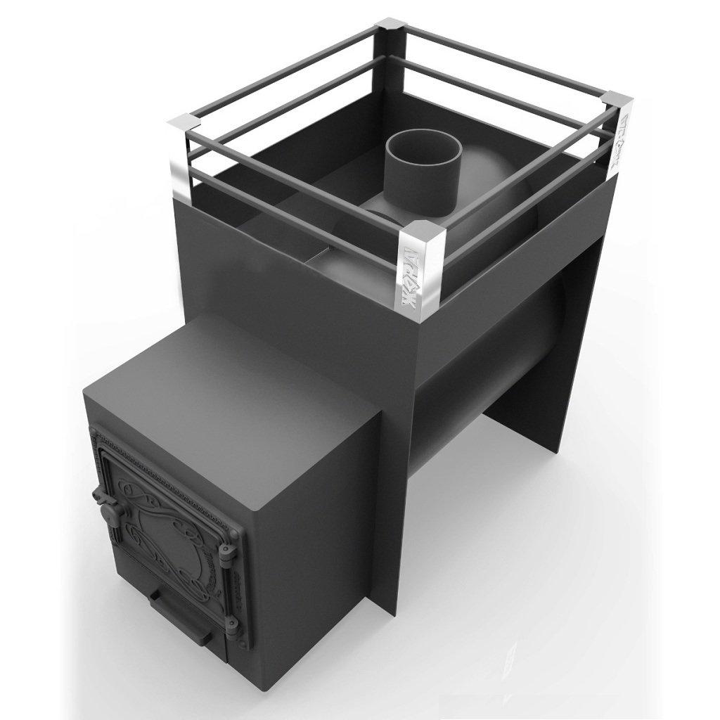 """Печи """"Жара"""": Печь для бани Жара-стандарт 500У с топочным коробом 250мм. в Сельский магазин"""