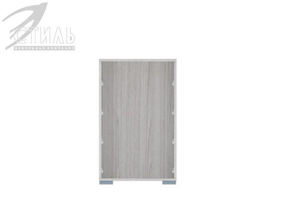 Комоды: Комод МДФ №1 (Ясень шимо светлый / Белый металлик) в Диван Плюс