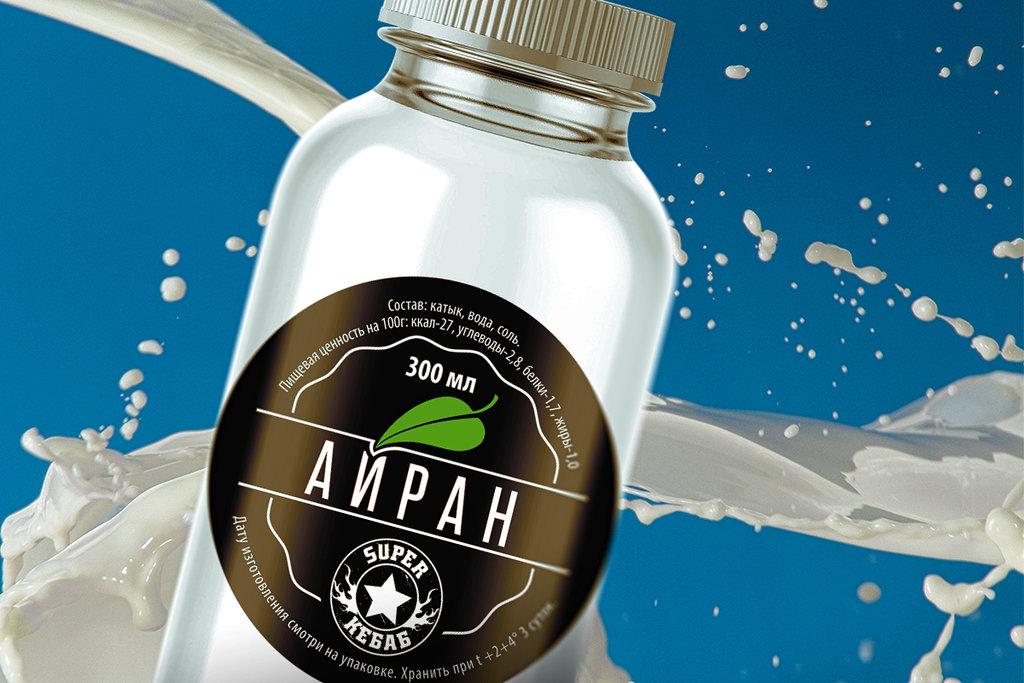 Напитки собственного производство: Айран 0,3 л в SUPER KEБAБ