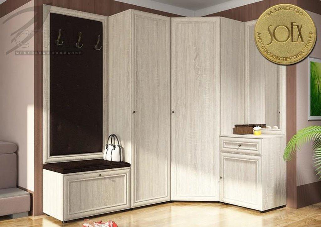 Мебель для прихожей Оскар - 7 (А) Модена: Пенал (штанга). Оскар - 7 (А) Модена в Диван Плюс