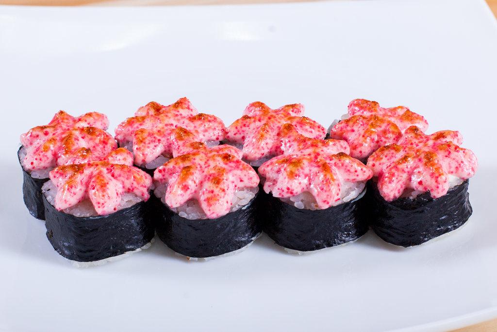 Запеченные роллы: Запеченный с креветкой в Sushin