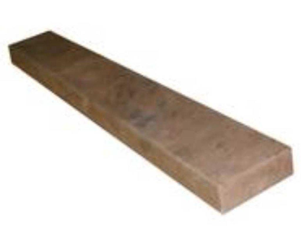 Ступени для лестниц: Подступенок гладкий ПР -127 60,0х14,5х3,2 цвет №2-9 в КамПлит