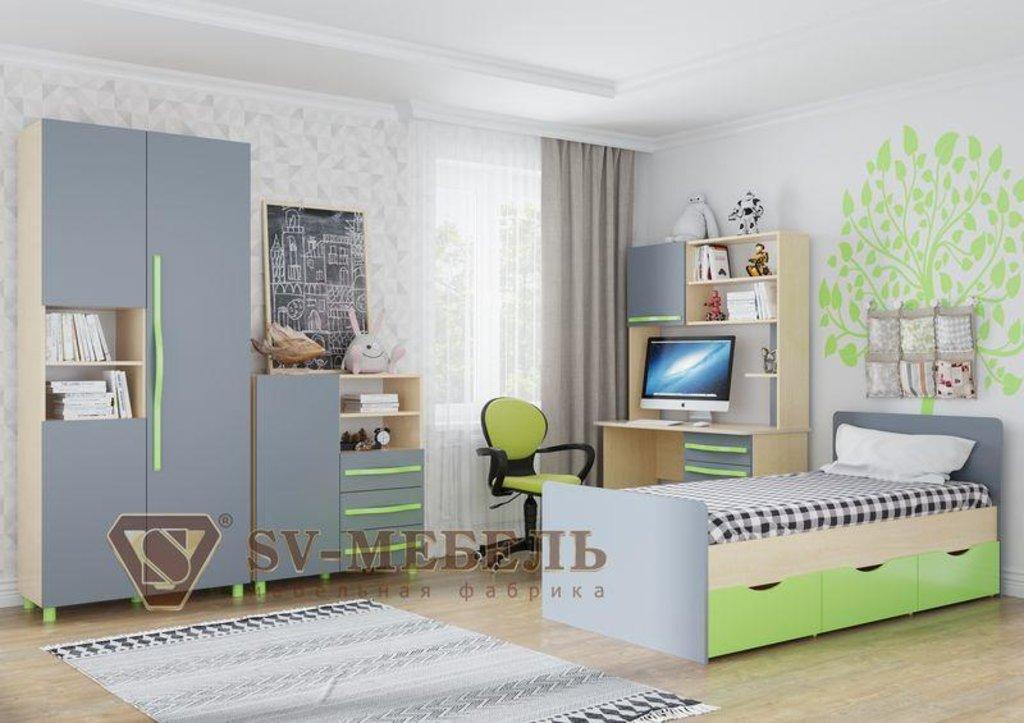 Мебель для детской Алекс-1: Комод Алекс-1 в Диван Плюс