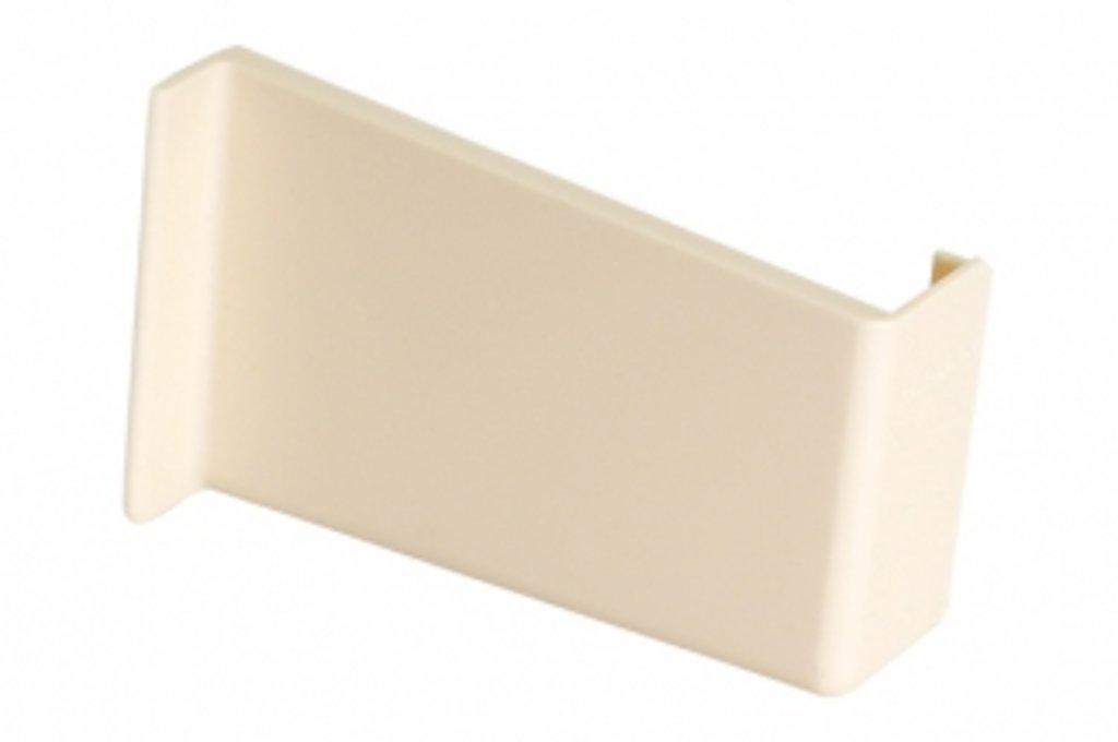 Подвеска полок: Крышечка декоративная для подвески арт.806 ваниль, правая в МебельСтрой