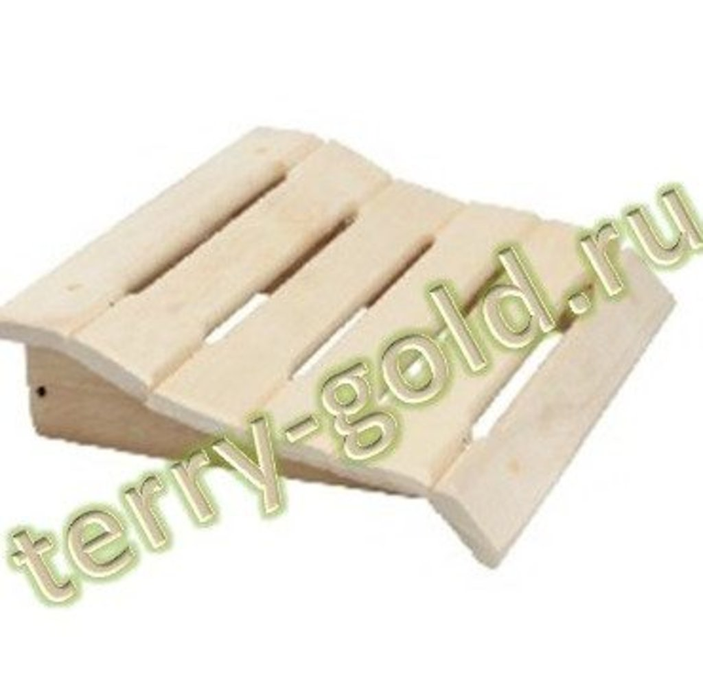 Товары для саун и бань, общее: Подголовник фигурный в Terry-Gold (Терри-Голд), погонажные изделия