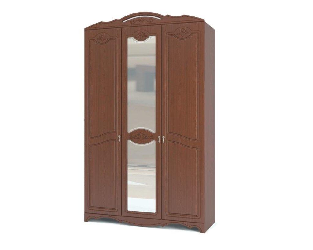 """Спальни: Шкаф распашной 3-х дверный """"Лотос"""" в Уютный дом"""