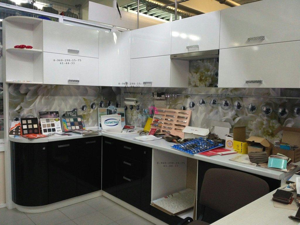 Кухонные гарнитуры: Кухня выставочный образец ! С установкой!! в M-Concord, мебель на заказ