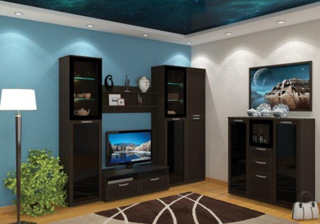 Стенки для гостиных: Домино 2 в Мебель ХИТ