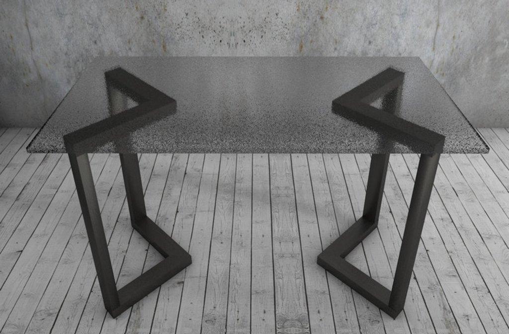 Подстолье, опоры: Подстолье 01 L-6 (чёрный) в АРТ-МЕБЕЛЬ НН