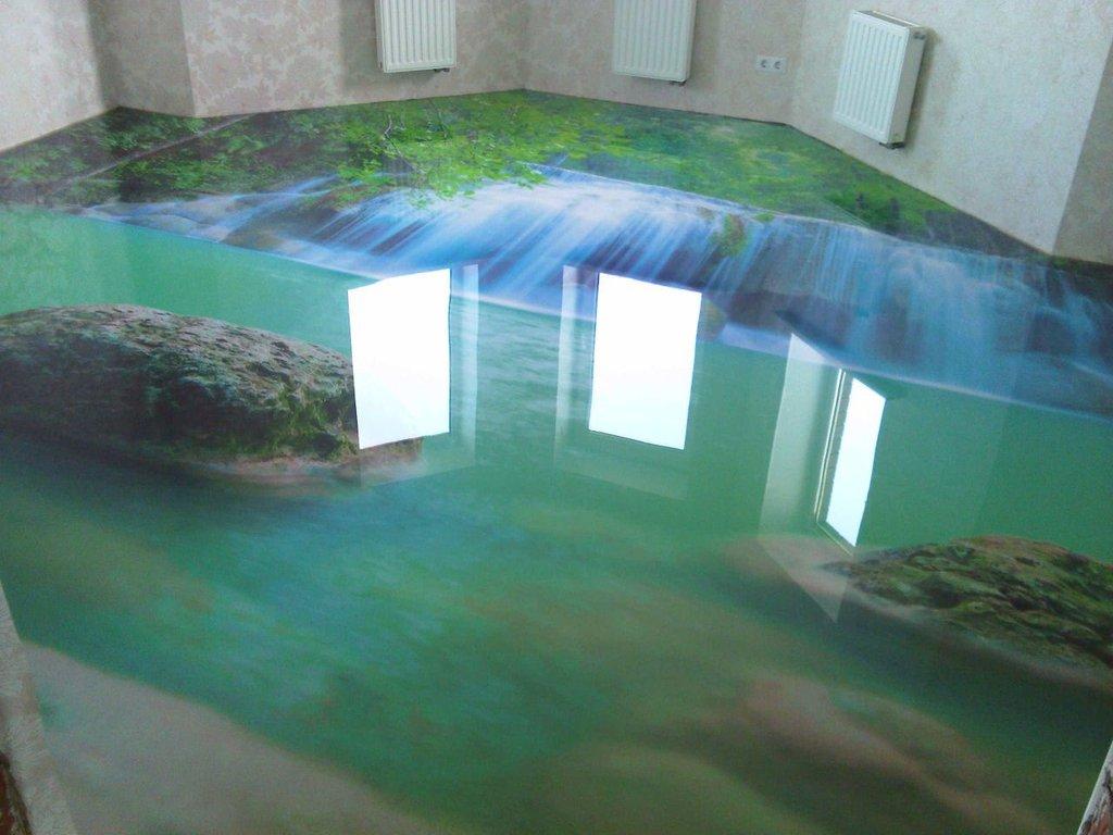 Эпоксидные наливные 3d полы мастика водостойкая для потолочного плинтуса