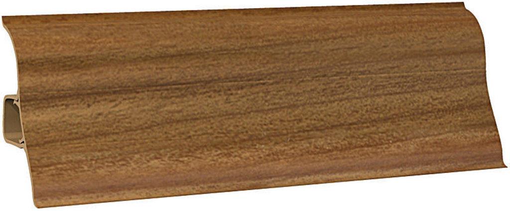 Плинтуса напольные: Плинтус напольный Ecoline 117 орех в Мир Потолков