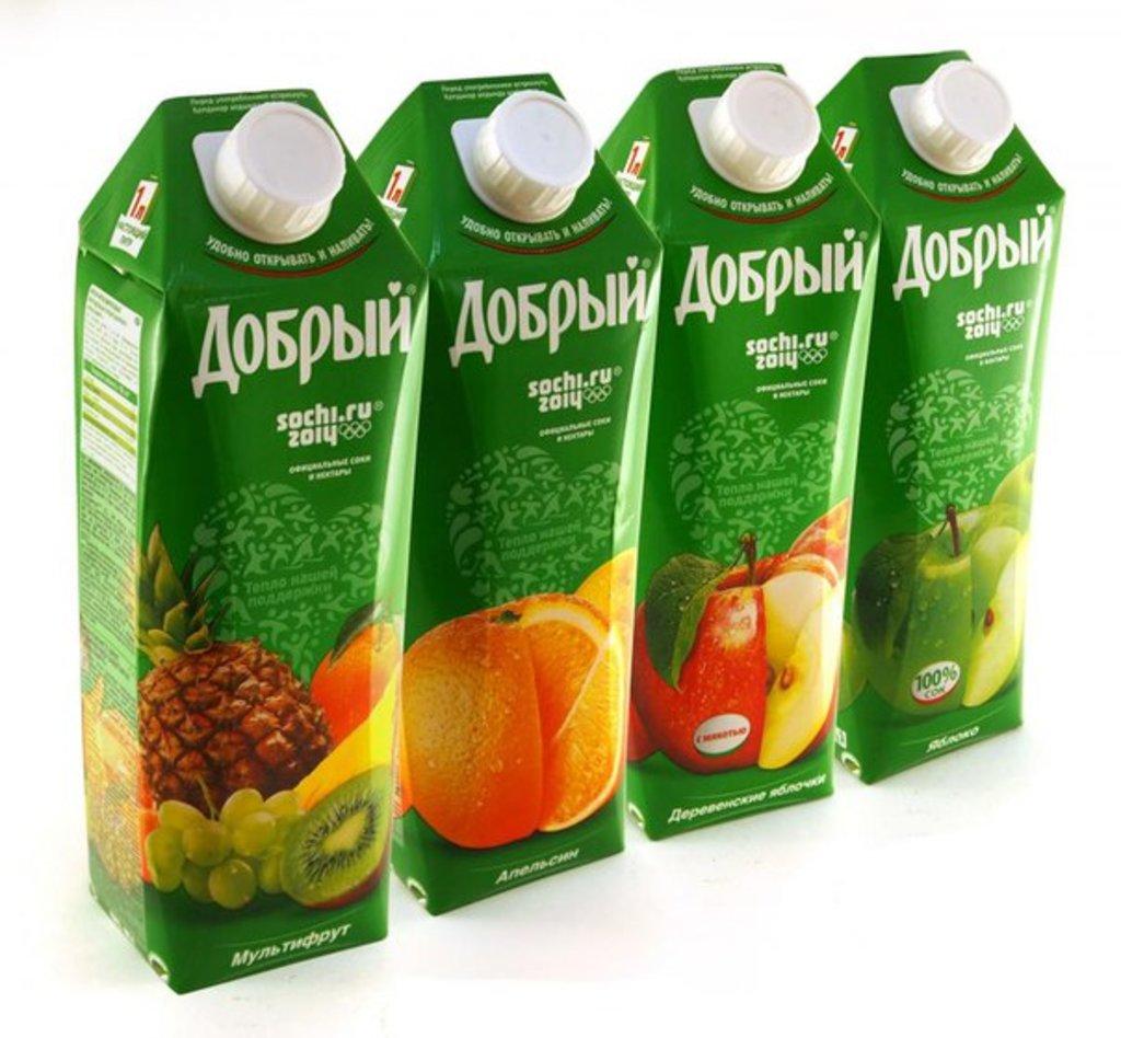Напитки: Сок Добрый в ассортименте в Мастер Пицца Краснодар