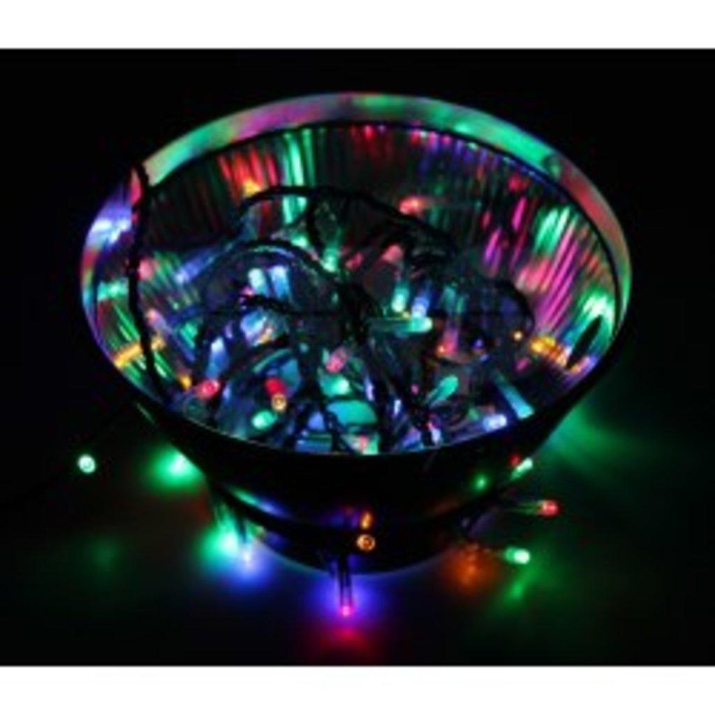 """Светодиодная нить: Гирлянда """"Твинкл Лайт 6 м. LED"""" 100 диодов мульти в СВЕТОВОД"""