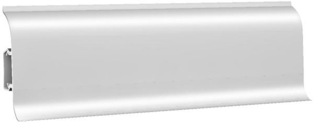 Плинтуса напольные: Плинтус напольный 60 ДП МК глянцевый 6000 белый в Мир Потолков