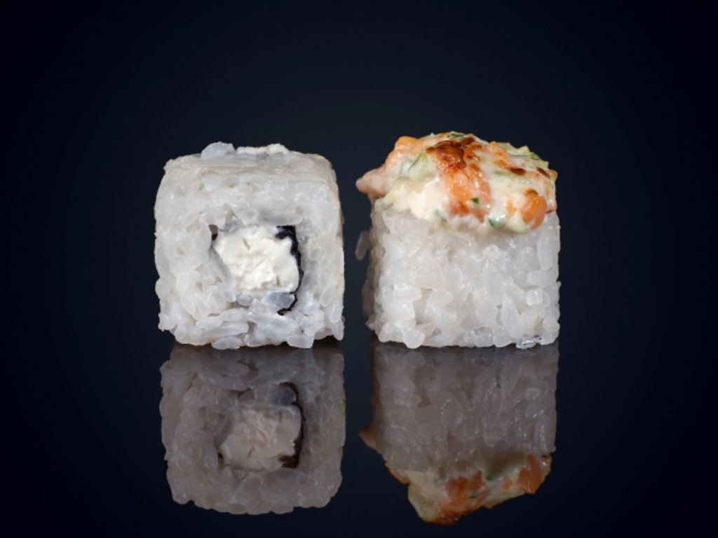 Лосось: Гюрисамон маки в МЭСИ суши&роллы